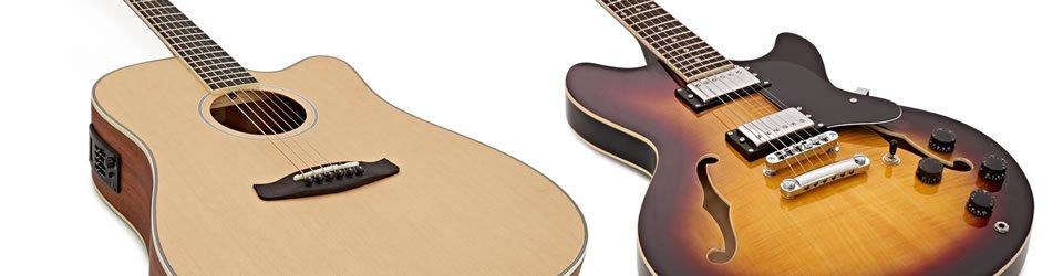Semi Acoustic vs Electro Acoustic Guitar