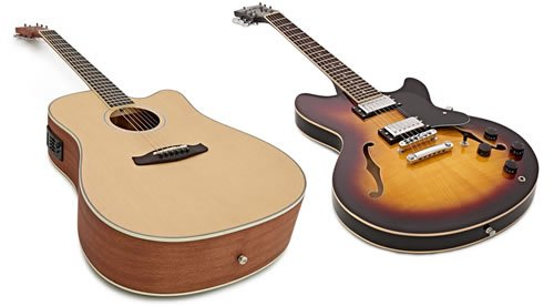 What's the difference between Semi Acoustic and Electro Acoustic Guitar?