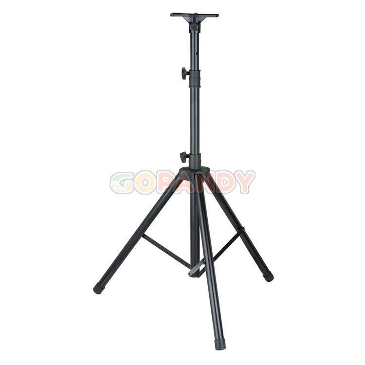 professional metal speaker stand - black