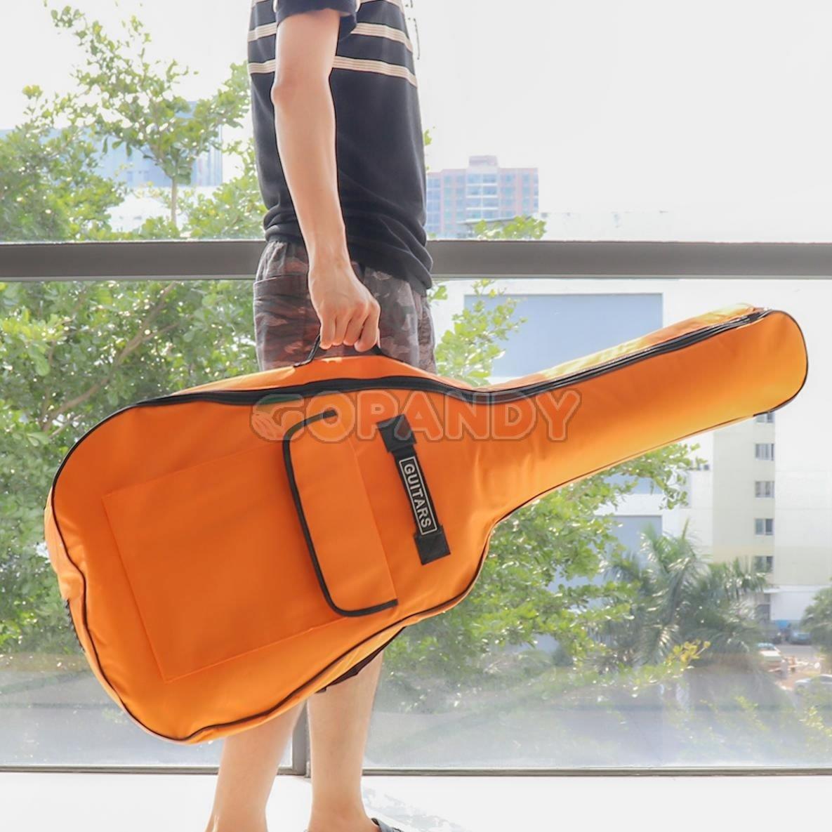 acoustic guitar bag -Orange 03 jpg