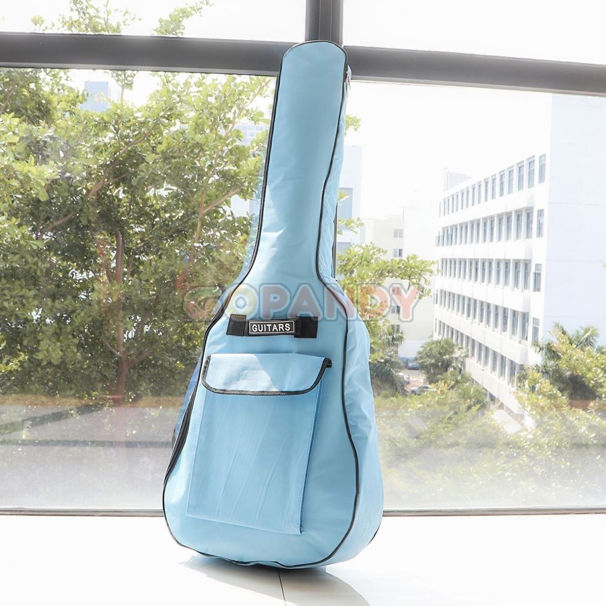 acoustic guitar bag – blue 02