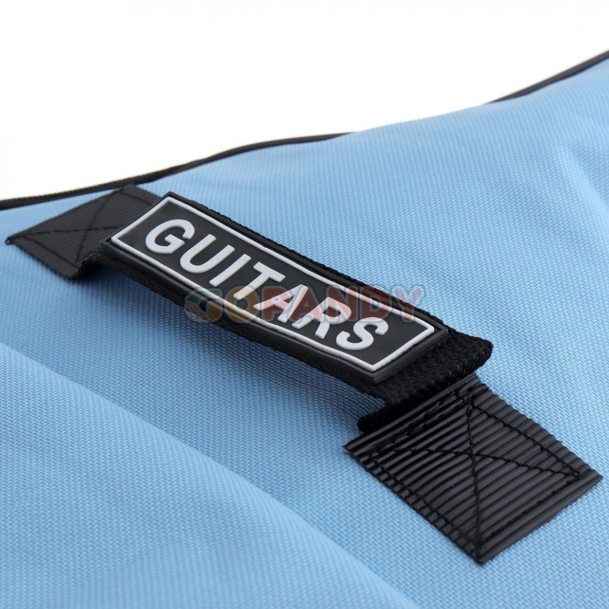acoustic guitar bag – blue 03